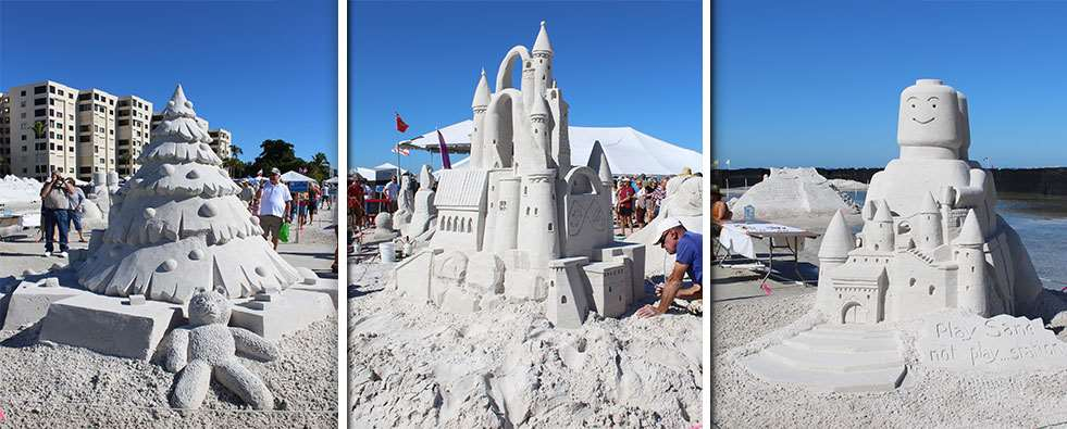 Image result for sandcastles on fort myers beach